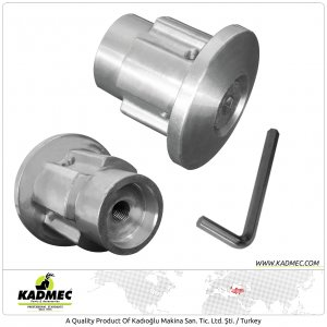 Aluminum Trimmer Head 010 Series For Kawasaki, Oleo-Mac, PRC