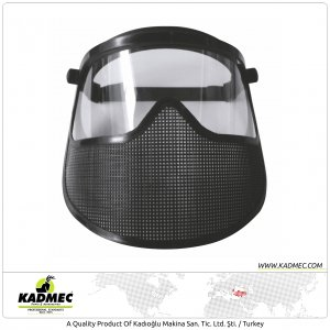 Amateur Mask Semi Polycarbonate Shield