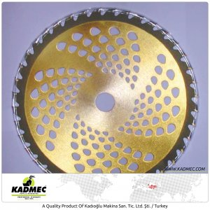 40 T Blade With Diamond (Gold Color)